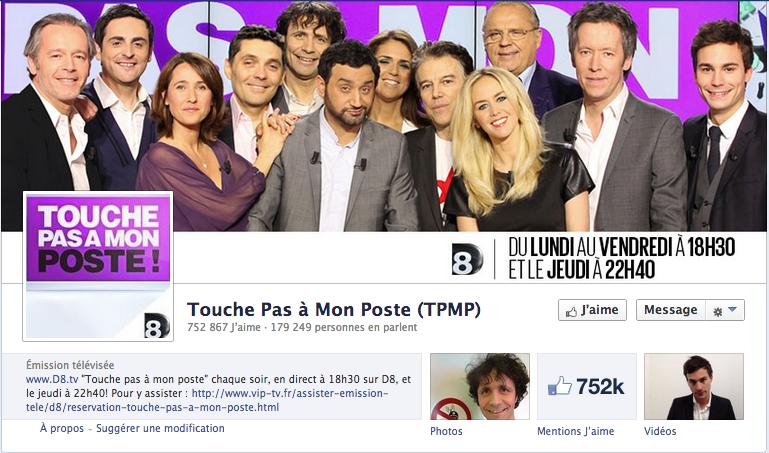 Social TV créer une communauté de fans facebook engagée